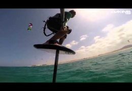 Foil Kiteboarding at Flag Beach with Gunnar Biniasch
