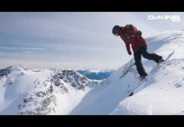 Dakine Snowboard Teamriders tracked in the Backcountry