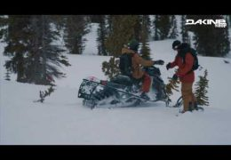 Dakine Teamrider Eric Pollard & Karl Fostvedt exploring the backcountry of Idaho