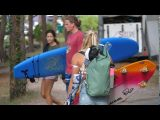 Janina Zeitler shows us the waterproof Dakine Cyclone Roll Top Backpack