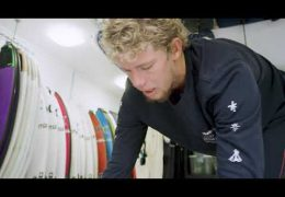 Travel smart, Not Hard: Surfstar John John Florence showing his innovative Dakine boardbag combo